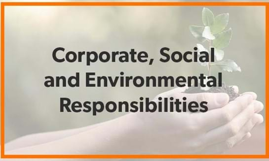 Corporate Social And Environmental Responsibilities