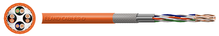 Cat7 Orange LAN Cable