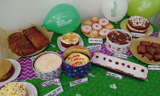 News - Macmillan coffee morning