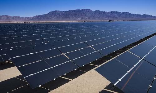 Insight - californian desert solar plant