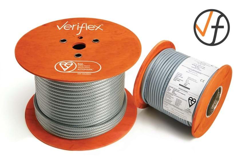 BSI Kitemark Tested Veriflex cable