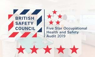 Achieving British Safety Council BSC 5 star status 2019