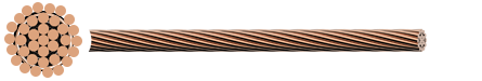Stranded Copper Conductor - Rail Catenary Wire
