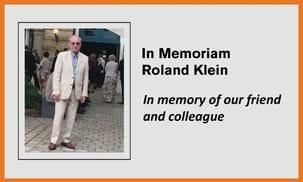 Roland Klein In Memoriam