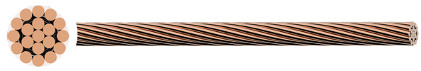 Rail Catenary Wire Hard Drawn Stranded Copper Conductor