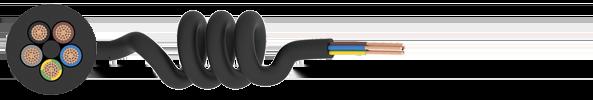 Curly Flex PVC Cable