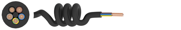 Curly Flex TPR Cable