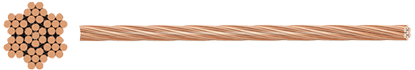 Rail Dropper Wire Flexible Copper