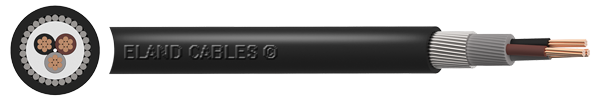 Cabo de alimentação blindado de baixa tensão BS5467 SWA XLPE
