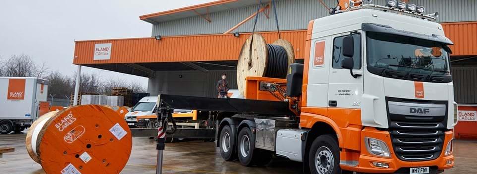 Eland Cables fleet Hi-Ab deliveries