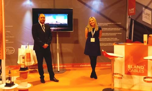 News - the All-Energy exhibition team in action