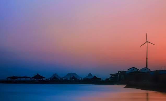Sudan First Wind Turbine