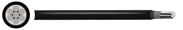 Aluminium HEPR PO 1Kv Turbine Power Cable