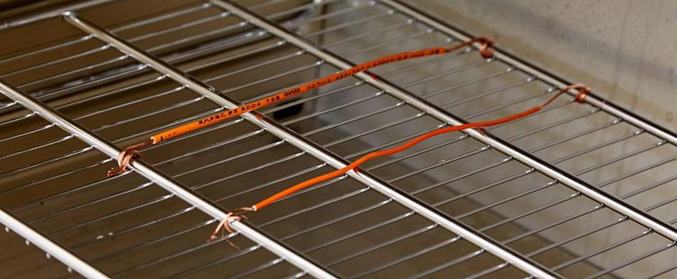 Tests de rétrécissement pour l'isolation des câbles électriques