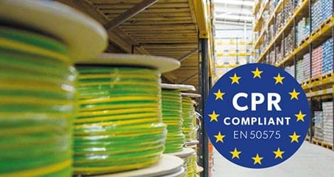 Construction Products Regulation CPR for Cables