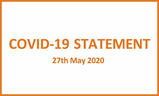 COVID 19 Update News 270520