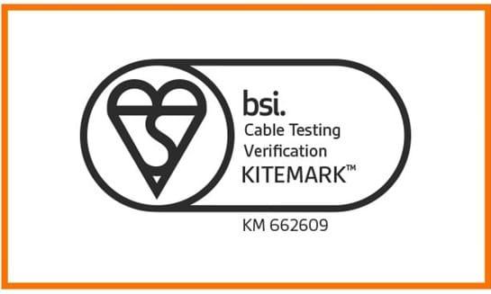 BSI Kitemark For Cable Testing Verification