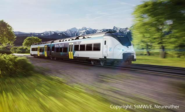 Siemens Hydrogen Train Sm