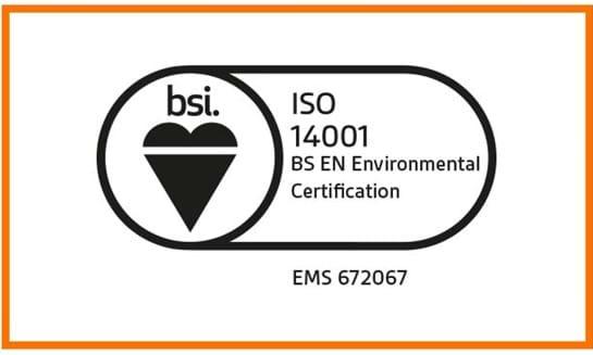 ISO 14001 Environmental Certification