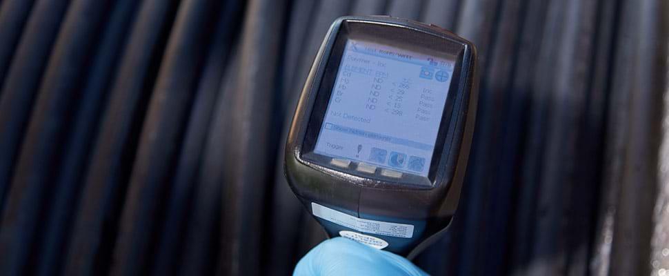 Tests de conformité RoHS pour les câbles électriques